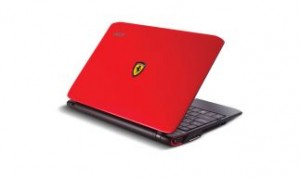 Netbook in schickem Ferrari-Design