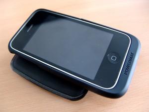 Mein iPhone auf der Powermate