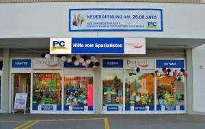 2010 wurde der Laden in Maxhütte-Haidhof Teil von PC-SPEZIALIST