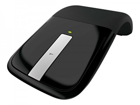 microsoft arc touch mouse stylische usb maus pc. Black Bedroom Furniture Sets. Home Design Ideas