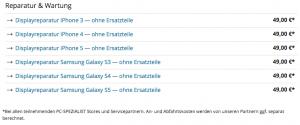 iphone 5 ladebuchse defekt