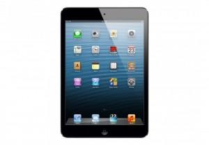 Schwarzes Apple iPad