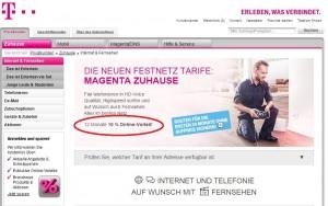 Telekom Magenta Zuhause Tarif