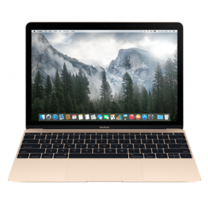 Das goldene MacBook