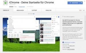 Chrome Erweiterung iChrome