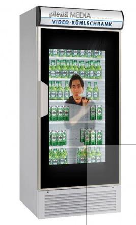 CeBIT Highlight Video-Kühlschrank Plentimedia