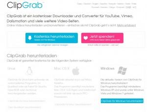 www.clipgrab.de Screenshot