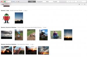Fotos Reiter in der neuen App