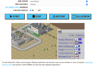 Screenshot Sim City