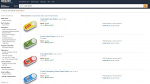 Screenshot Amazon Dash Buttons