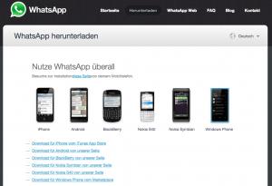 WhatsApp im Web