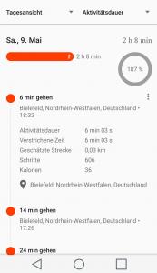 Quantified Self mit Google Fit