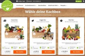 online lebensmittel boxen bestellen