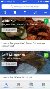 App Foursquare