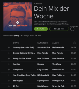 spotify playlist