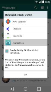microsoft launcher standard app