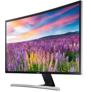 gebogener TV curved monitor