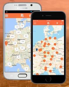 parkingslot app für android und ios