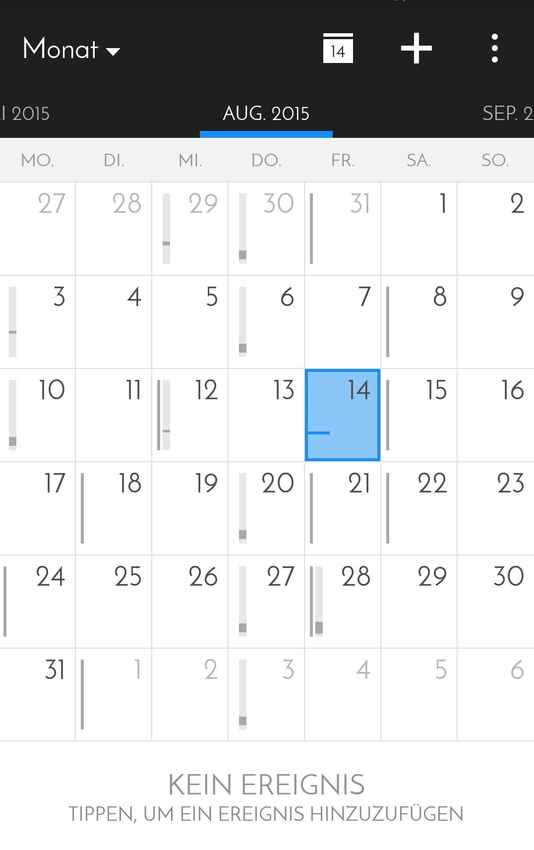 Acalendar Anleitung kalender apps für android ## alternative zu vorinstallierten