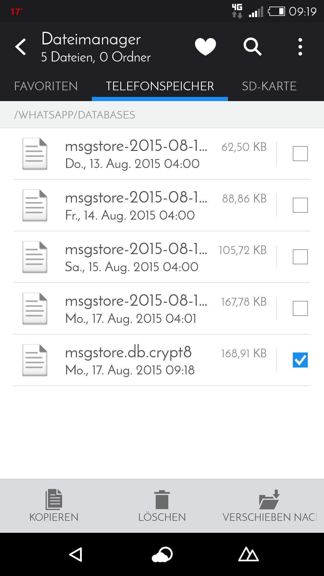 Whatsapp Dateien Auf Sd Karte.Whatsapp Chats übertragen Backup Erstellen Und Installieren