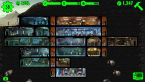 Bethesdas Fallout Shelter von der Seite