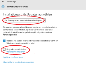 windows updates deaktivieren