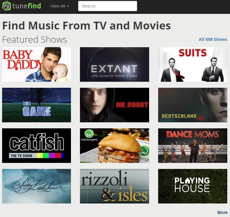 Tunefind Filmmusik Und Titelmelodien Einfach Finden