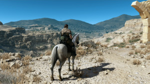Metal Gear Solid V: The Phantom Pain - D-Horse