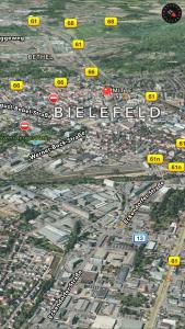 Bielefeld Zentrum in 3D