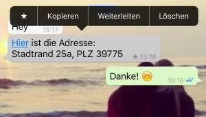 iOS 9.1 Markierungen