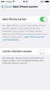 iphone verloren ortung handyfinder