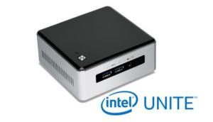 Intel NUCs unterstützen die Intel Unite Software
