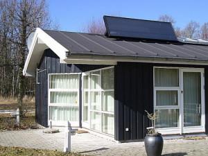 Solarventi auf dem Dach montiert