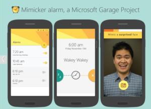 wecker app mimicker microsoft