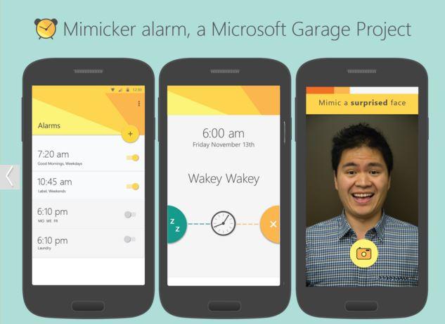 تطبيق اندرويد من مايكروسوفت يجبرك علي الإستيقاظ باكرا