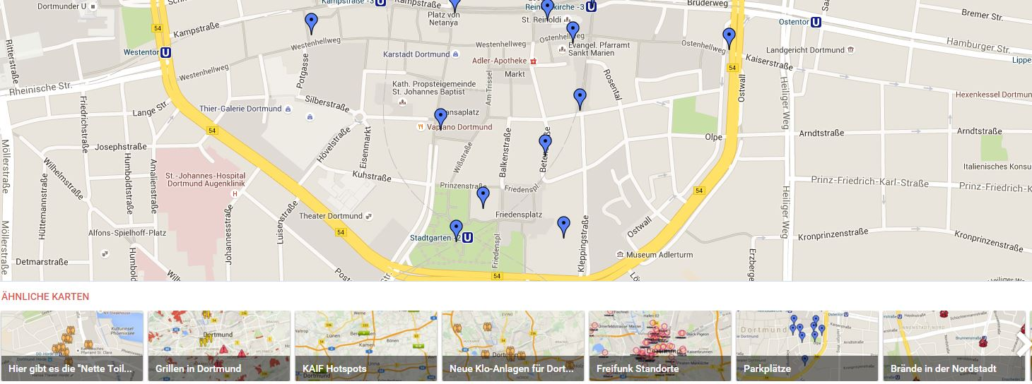 google maps funktionen versteckte features des routenplaners. Black Bedroom Furniture Sets. Home Design Ideas