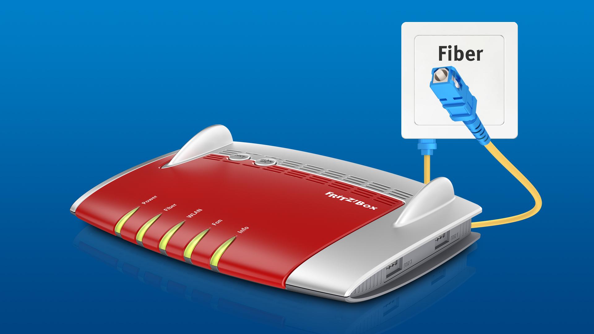 Fritzbox Fiber