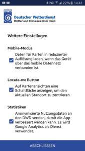 WarnWetter: Deutscher Wetterdienst App