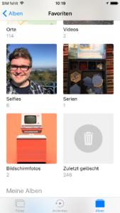 iOS 10 Erfahrungen Fotos app