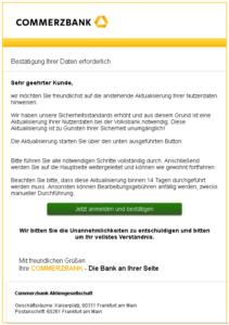 Commerzbank Phishing