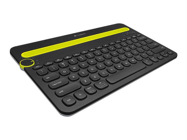 logitech bluetooth tastatur allrounder f r pc laptop. Black Bedroom Furniture Sets. Home Design Ideas