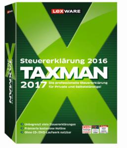 Lexware Taxman 2017: Die einfache Steuersoftware