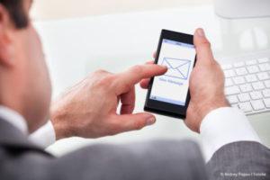 Inkassoforderung per SMS