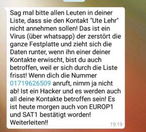 Kontakt Ute Christoff