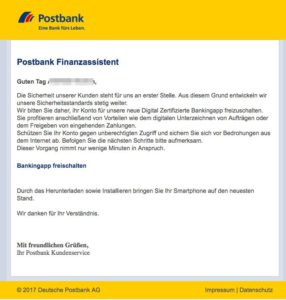Postbank App