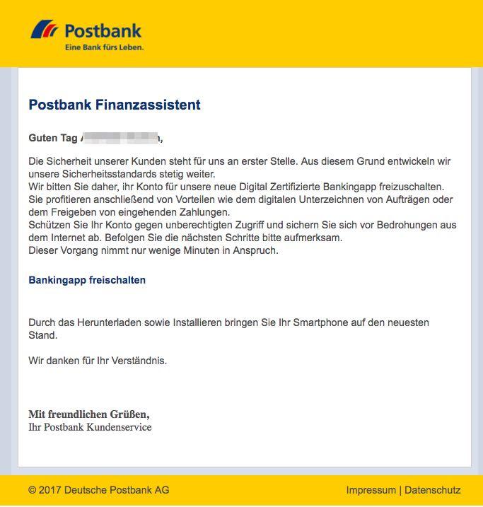 postbank neues tan verfahren
