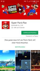 Super Mario App