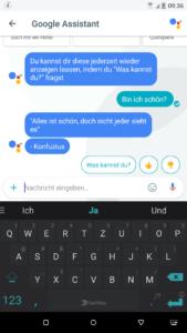 Google Sprachassistent