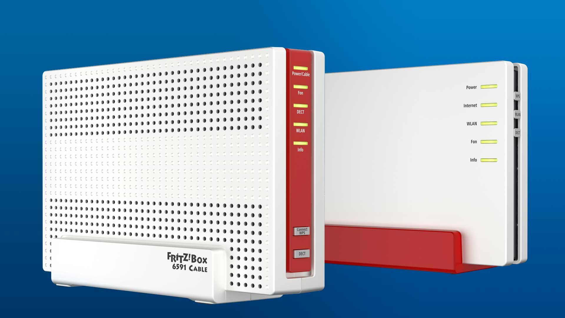 fritz box 7582 und 6591 schnelle neue avm router mit. Black Bedroom Furniture Sets. Home Design Ideas
