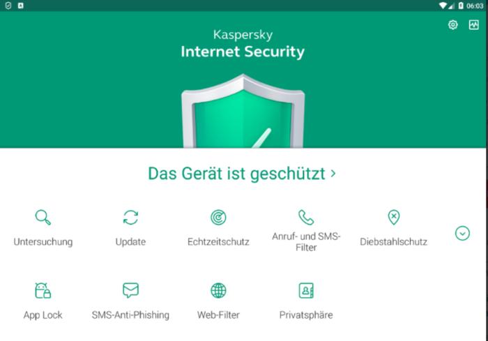 Computervirus - Was sind Viren - Schutz vor Computerviren - Kaspersky Lab - Kaspersky Internet Security. Foto: Screenshot